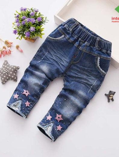 Nhà máy may quần bò jean trẻ em đổ sỉ giá rẻ